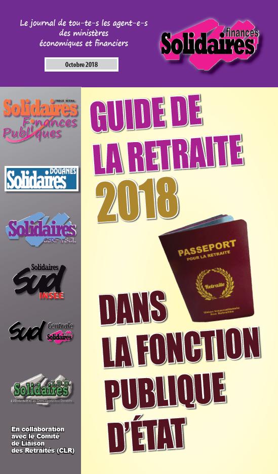 Guide De La Retraite Dans La Fonction Publique D Etat
